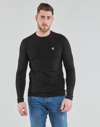 Oblačila Moški Majice z dolgimi rokavi Emporio Armani EA7 8NPTL9-PJ03Z-1200 Črna