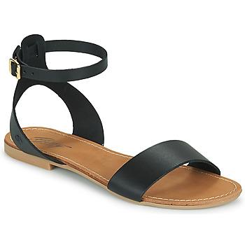 Čevlji  Ženske Sandali & Odprti čevlji Betty London GIMY Črna