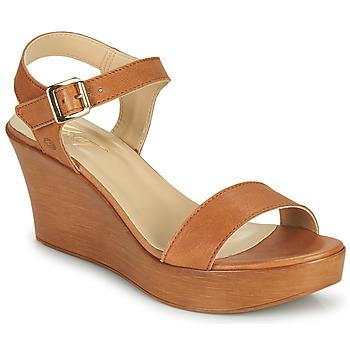 Čevlji  Ženske Sandali & Odprti čevlji Betty London CHARLOTA Kamel