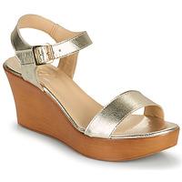 Čevlji  Ženske Sandali & Odprti čevlji Betty London CHARLOTA Pozlačena