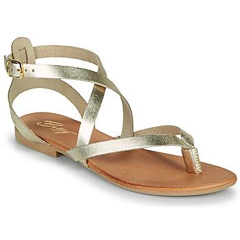 Čevlji  Ženske Sandali & Odprti čevlji Betty London OPALACE Pozlačena