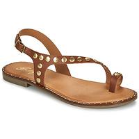 Čevlji  Ženske Sandali & Odprti čevlji Betty London OPATIO Kamel