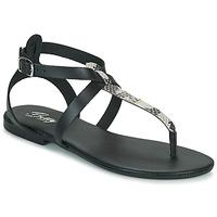 Čevlji  Ženske Sandali & Odprti čevlji Betty London ORIOUL Črna / Siva