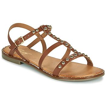 Čevlji  Ženske Sandali & Odprti čevlji Betty London OVADE Kamel