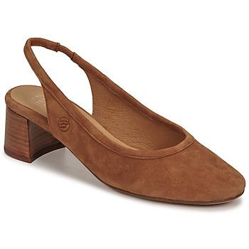 Čevlji  Ženske Salonarji Betty London OMMINE Cognac