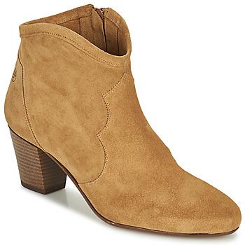 Čevlji  Ženske Gležnjarji Betty London OISINE Kamel