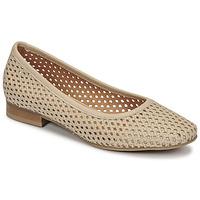 Čevlji  Ženske Balerinke Betty London OCARA Kremno bela