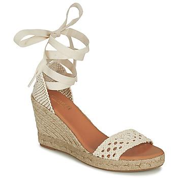 Čevlji  Ženske Sandali & Odprti čevlji Minelli SHELLYE Kremno bela