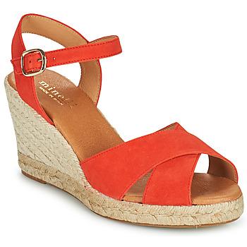 Čevlji  Ženske Sandali & Odprti čevlji Minelli OMELLA Rdeča