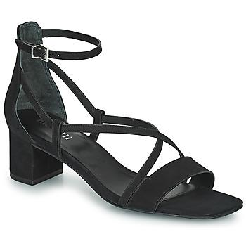 Čevlji  Ženske Sandali & Odprti čevlji Minelli HENRIETA Črna