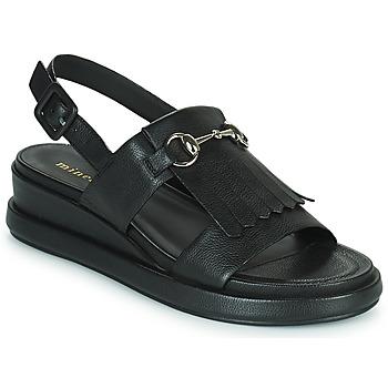 Čevlji  Ženske Sandali & Odprti čevlji Minelli HEMYE Črna