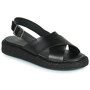 Čevlji  Ženske Sandali & Odprti čevlji Minelli HADDIA Črna