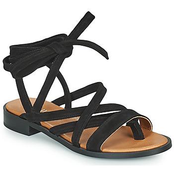 Čevlji  Ženske Sandali & Odprti čevlji Minelli HURIA Črna