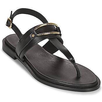 Čevlji  Ženske Sandali & Odprti čevlji Minelli LIZA Črna
