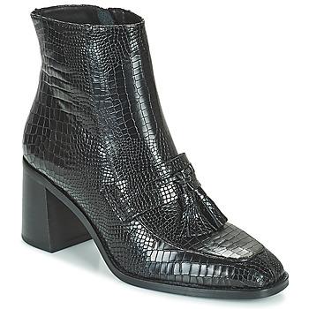 Čevlji  Ženske Gležnjarji Minelli ZYA Črna
