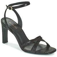 Čevlji  Ženske Sandali & Odprti čevlji Minelli THIPHANNIE Črna