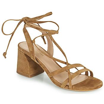 Čevlji  Ženske Sandali & Odprti čevlji Minelli TATIA Kostanjeva