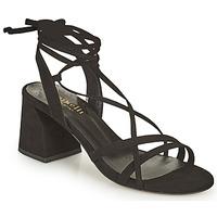 Čevlji  Ženske Sandali & Odprti čevlji Minelli TATIA Črna