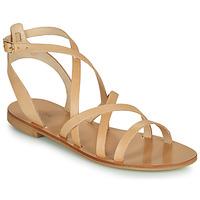 Čevlji  Ženske Sandali & Odprti čevlji Minelli HOULLY Bež