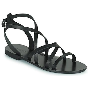 Čevlji  Ženske Sandali & Odprti čevlji Minelli HOULLY Črna