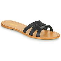 Čevlji  Ženske Natikači So Size MELINDA Črna