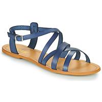 Čevlji  Ženske Sandali & Odprti čevlji So Size IDITRON Modra