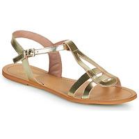 Čevlji  Ženske Sandali & Odprti čevlji So Size DURAN Pozlačena