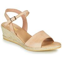 Čevlji  Ženske Sandali & Odprti čevlji So Size OTTECA Bež