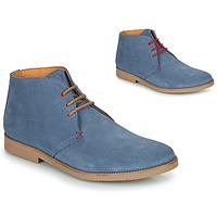 Čevlji  Moški Polškornji So Size OOLOO Modra