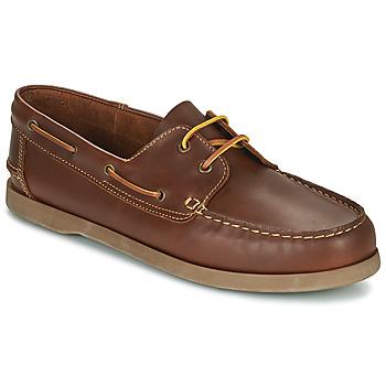 Čevlji  Moški Mokasini & Jadralni čevlji So Size MALIK Tan