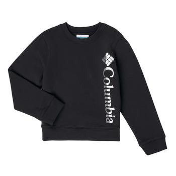 Oblačila Deklice Puloverji Columbia COLUMBIA PARK FRENCH TERRY CREW Črna