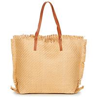 Torbice Ženske Nakupovalne torbe Moony Mood ODANE Bež