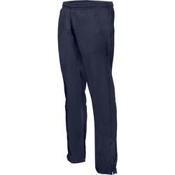 Oblačila Moški Spodnji deli trenirke  Proact Pantalon de survêtement ajustée bleu marine