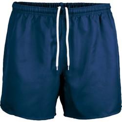 Oblačila Kratke hlače & Bermuda Proact Short Praoct Rugby bleu royal/bleu