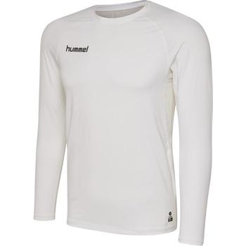 Oblačila Moški Majice z dolgimi rokavi Hummel Maillot  manches longues First Performance HML blanc