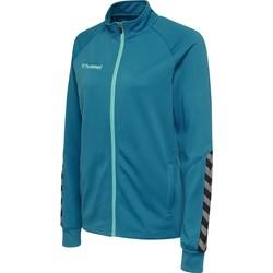 Oblačila Ženske Športne jope in jakne Hummel Veste femme  Zip hmlAUTHENTIC Poly bleu