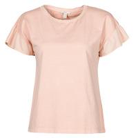 Oblačila Ženske Majice s kratkimi rokavi Esprit T-SHIRTS Rožnata
