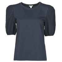 Oblačila Ženske Majice s kratkimi rokavi Esprit T-SHIRTS Črna