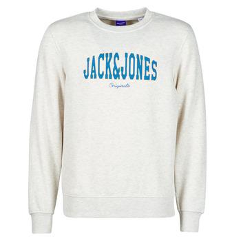 Oblačila Moški Puloverji Jack & Jones JORHART Bela