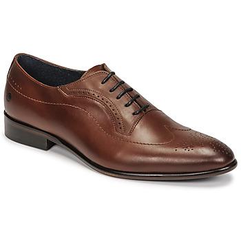 Čevlji  Moški Čevlji Richelieu Carlington OULIO Cognac
