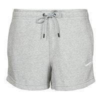 Oblačila Ženske Kratke hlače & Bermuda Nike NSESSNTL FLC HR SHORT FT Siva / Bela