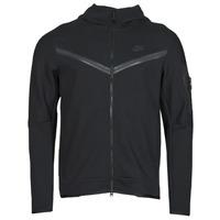 Oblačila Moški Športne jope in jakne Nike NSTCH FLC HOODIE FZ WR Črna