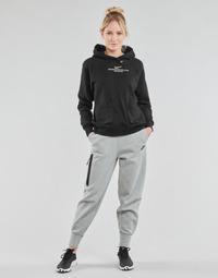 Oblačila Ženske Spodnji deli trenirke  Nike NSTCH FLC ESSNTL HR PNT Siva / Črna