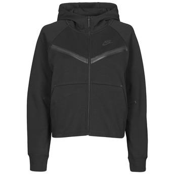 Oblačila Ženske Športne jope in jakne Nike NSTCH FLC WR ESSNTL FZ HDY Črna