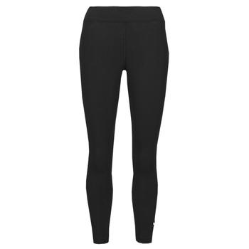 Oblačila Ženske Pajkice Nike NSESSNTL 7/8 MR LGGNG Črna / Bela