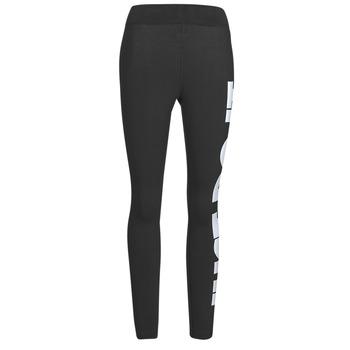 Oblačila Ženske Pajkice Nike NSESSNTL GX HR LGGNG JDI Črna / Bela