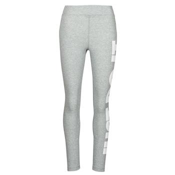 Oblačila Ženske Pajkice Nike NSESSNTL GX HR LGGNG JDI Siva / Bela