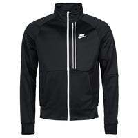 Oblačila Moški Športne jope in jakne Nike NSTE N98 PK JKT TRIBUTE Črna / Bela
