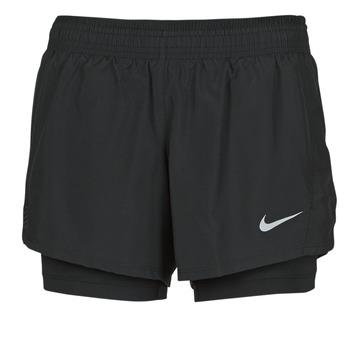 Oblačila Ženske Kratke hlače & Bermuda Nike 10K 2IN1 SHORT Črna
