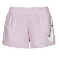 Oblačila Ženske Kratke hlače & Bermuda Nike SWOOSH RUN SHORT Vijolična / Bela